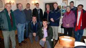 Bath Astronomers at Herschel House, Bath (photo by Dick Cardy)