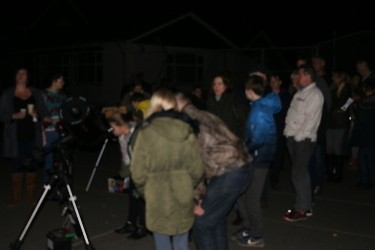 Family friendly observing at Roundhill