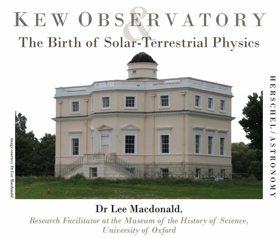 Kew Observatory & The Birth of Solar-Terrestrial Physics