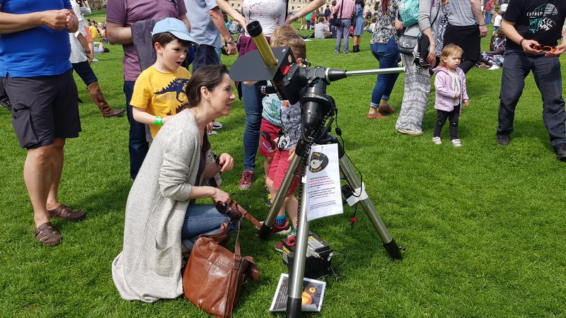 Solar Observing @ Herschel Museum of Astronomy