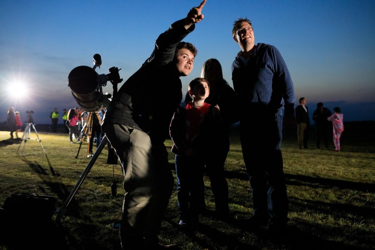 Stargazing at Stonehenge