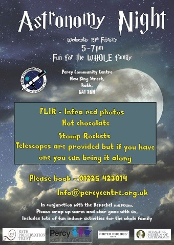 Astronomy Night at the Percy Centre